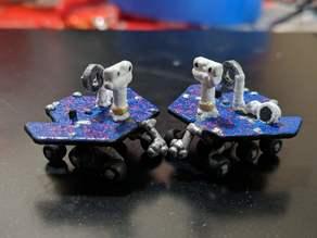 MER (Opportunity and Spirit Mars Rovers) Earrings