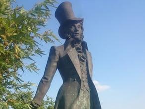 Monument of Alexander Sergejewitsch Puschkin