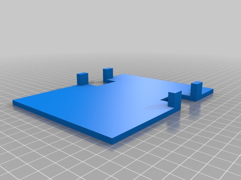 Robot platform for 28BYJ-48 stepper motors by jdude