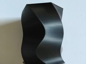 Spiral-hex vase