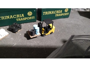 forklift H0 scale