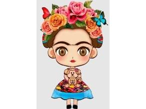 Frida Kahlo key chain (llavero)