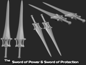 The Sword of Power & Sword of Protection