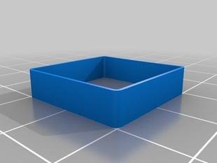 Actual 0.5mm thin wall 20 mm box