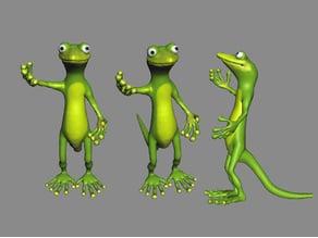 gekko cartoon