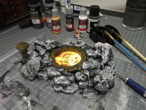 Vortex Portal Pool - 28mm mini - RPG - Pathfinder / D&D iPhone7