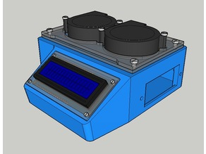 WIP Laptop hot air extractor