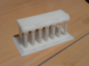 Customizable Greek Temple