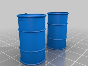 1/35 scale 55 Gallon Drums