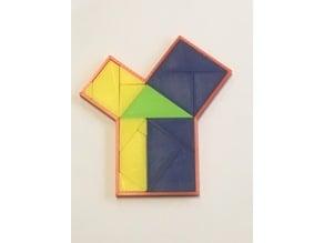 Pythagoras jigsaw proof