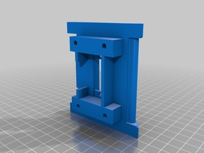 CTC Prusa I3 Pro B MK10 Extruder Plate for Quick fit