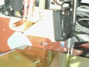 MK8 extruder cooling fan duct