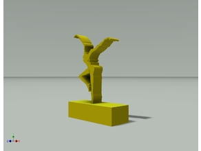 Firedancer Desk Figurine