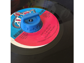 "7"" 45RPM vinyl single adapter"