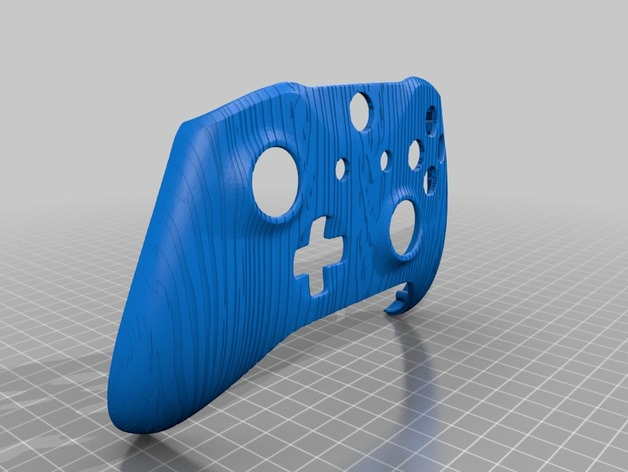 Xbox One S Custom Controller Shell: Wood Grain Edition by