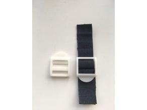 Backpack strap adjustors