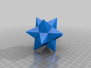 Small Stellated Dodecahedron Ornament