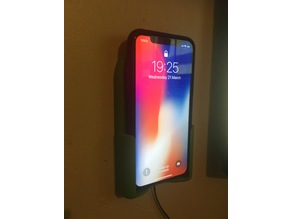 IPHONE X WALL QI MOUNTS