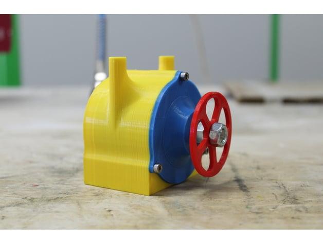 Tesla Turbine - 3D Printable by Integza - Thingiverse