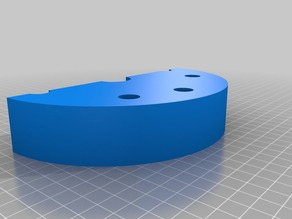 R2D2 Shoulder hubs 6.6 inch x 2.6 inch
