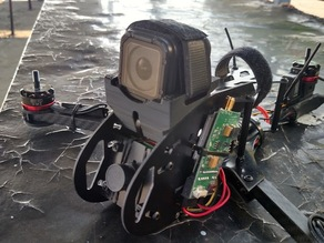 RCExplorer MiniTricopter GoPro Session Mount: Low-Profile