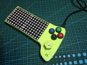 G 128 a bicolour led matrix game