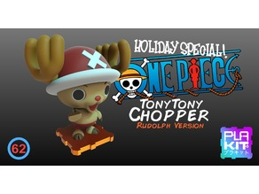 Holiday Special 3! OnePiece Chopper! Rudolph Version!!