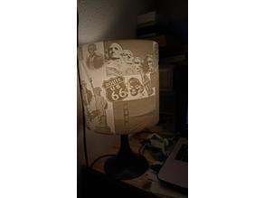 USA caricatural Lamp Shade