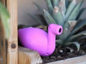 Thirsty Flamingo