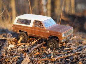 Chevrolet Blazer K5 - RC model with WPL axles