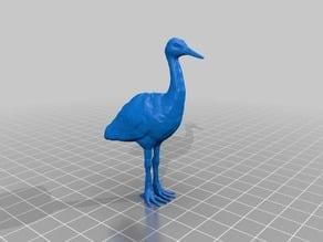 鶴(Crane)3Dデータ