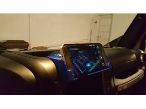 Jeep Wrangler JKU Center Dash Phone Holder