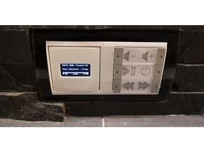GIRA-Rahmen PiCore Player (Displayrahmen & Abstandhalter)