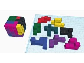 4x4x4 Puzzle Cube