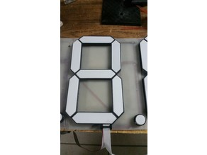 19cm(7.5'') Seven Segment Display