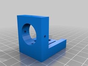 Laser module mount for pocket laser engraver
