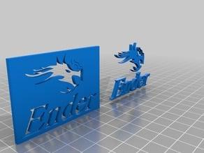 Creality Ender 3 Dragon and Logo