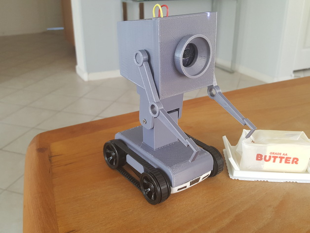 pass the butter robot from rick and morty by esdev thingiverse