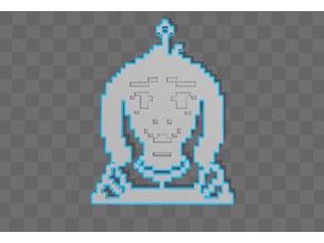 Asriel Dreemurr Undertale [Keychain]