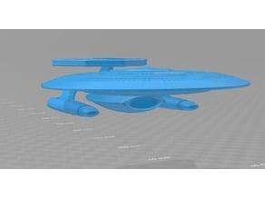 Star Trek TNG-era Nebula Class Redux