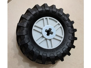 Lego Technic - Custom 3xSize 55982 Wheel