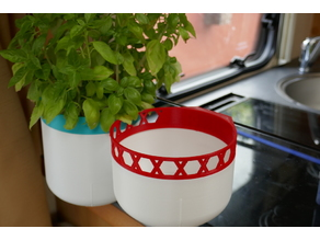 Clip-on pots (with suction cup)