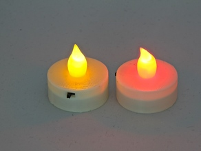 Parametric LED Tea Light Candle Hat