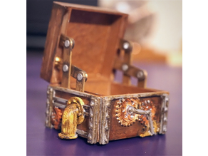 Steam Punk Hinge Box