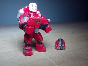 Space Marine - scalable and customisable - built off of Ghost 1.2 open source figure
