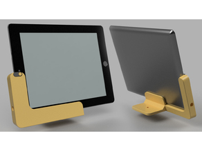 Parametric Tablet Superstand with Camera Cover