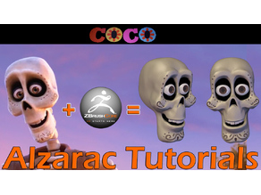 Pixar COCO skull