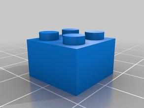 2 x 2 LEGO-Compatible Brick