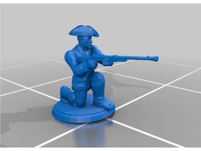 Colonial Rifleman - Crouched Firing