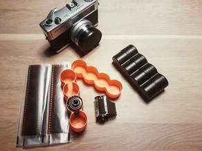 35mm Photography film canister